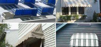 Lắp đặt mái vòm, mái che cửa sổ đẹp giá rẻ tại Tphcm