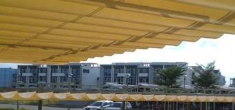 Mái xếp lượn sóng tại Tp HCM