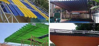 Làm mái xếp đẹp – mái xếp lượn sóng di động giá rẻ tại Quận Bình Thạnh Tphcm