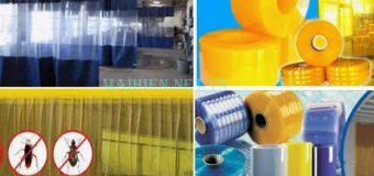Cung cấp, lắp rèm (màn) nhựa PVC chống côn trùng giá rẻ tại Tphcm